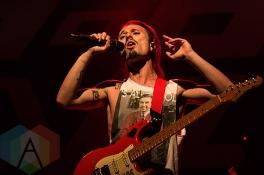 Smashing Satellites performing at The Phoenix Concert Theatre in Toronto on December 1, 2015. (Photo: Theo Rallis/Aesthetic Magazine)
