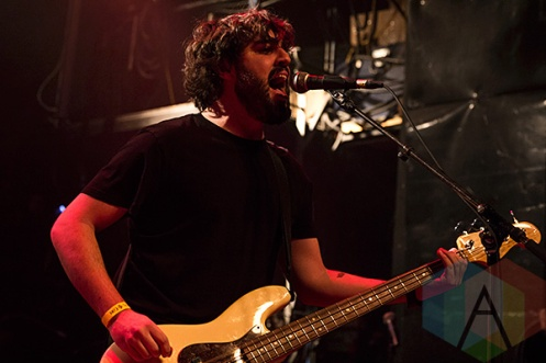 Stuck On Planet Earth performing at The Mod Club in Toronto on December 19, 2015. (Photo: Theo Rallis/Aesthetic Magazine)