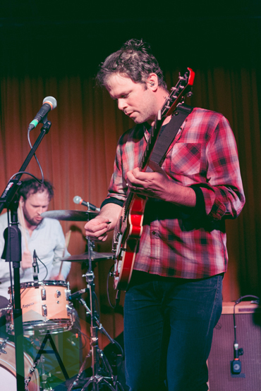 Wintersleep performing at The Drake Hotel in Toronto on January 14, 2016. (Photo: Josh Moody/Aesthetic Magazine)