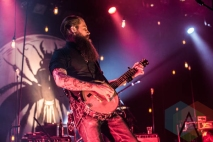 The Devil Makes Three performing at the Commodore Ballroom in Vancouver on January 20, 2016. (Photo: Amy Ray/Aesthetic Magazine)