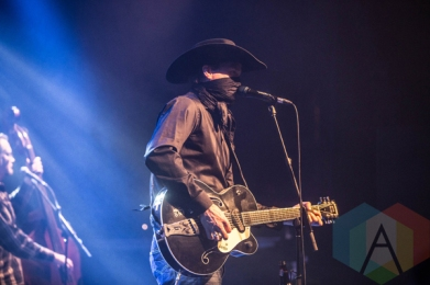 Corb Lund performing at the Commodore Ballroom in Vancouver on January 29, 2016. (Photo: Amy Ray/Aesthetic Magazine)