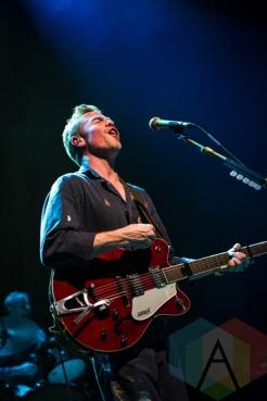 Josh Ritter performing at the Riviera Theatre in Chicago on January 29, 2016. (Photo: Kari Terzino/Aesthetic Magazine)