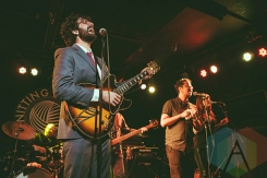 Douglas and the Goodharts performing at the Knitting Factory in Brooklyn, New York on January 30, 2016. (Photo: Coen Rees/Aesthetic Magazine)