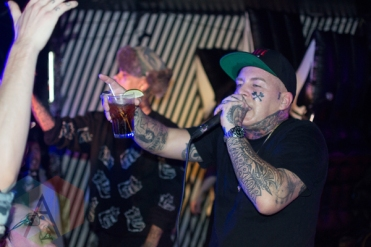 Madchild performing at Babylon Nightclub in Ottawa, Ontario on January 21, 2016. (Photo: Lucy Sky/Aesthetic Magazine)