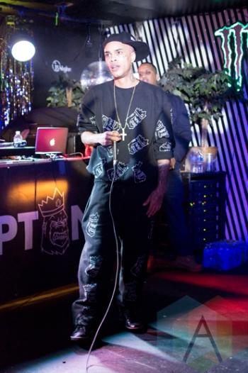 Young Kazh performing at Babylon Nightclub in Ottawa, Ontario on January 21, 2016. (Photo: Lucy Sky/Aesthetic Magazine)