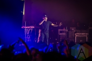 Chance The Rapper performing at the Donald Stephens Convention Center in Chicago as part of Reaction NYE 2015. (Photo: Kari Terzino/Aesthetic Magazine)