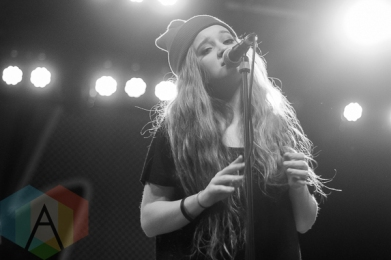 Jule Vera performing at The Marquee Theatre in Tempe, Arizona on January 19, 2016. (Photo: Meghan Lee/Aesthetic Magazine)