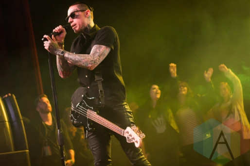Metro Station performing at The Marquee Theatre in Tempe, Arizona on January 19, 2016. (Photo: Meghan Lee/Aesthetic Magazine)