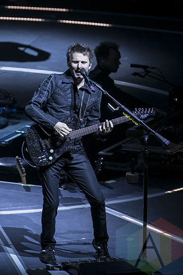 Muse performing at the Joe Louis Arena in Detroit on January 14, 2016. (Photo: Amanda Cain/Aesthetic Magazine)