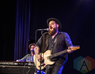 Nathaniel Rateliff and the Night Sweats performing at the Commodore Ballroom in Vancouver on January 21, 2016. (Photo: Amy Ray/Aesthetic Magazine)