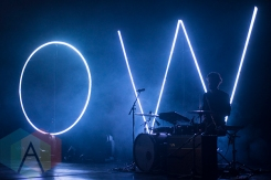 Oh Wonder performing at The Danforth Music Hall in Toronto on January 23, 2016. (Photo: Morgan Hotston/Aesthetic Magazine)