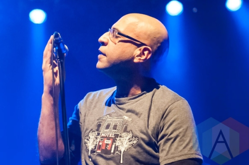 The Watchmen performing at The Danforth Music Hall in Toronto on January 30, 2016. (Photo: Orest Dorosh/Aesthetic Magazine)