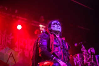 Cradle of Filth performing at the Rickshaw Theatre in Vancouver on February 24, 2016. (Photo: Amy Ray/Aesthetic Magazine)