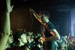 Arkells performing at the Commodore Ballroom in Vancouver on February 1, 2016. (Photo: Carmin Edwards/Aesthetic Magazine)
