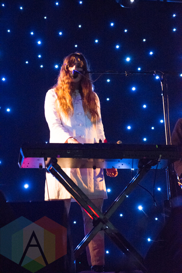 Beach House performing at the 2016 Laneway Festival in Sydney, Australia on February 7, 2016. (Photo: Gwendolyn Lee/Aesthetic Magazine)