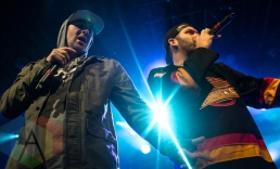 Classified performing at the Commodore Ballroom in Vancouver on February 27, 2016. (Photo: Carmin Edwards/Aesthetic Magazine)