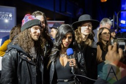 Diemonds at the 2016 JUNO Awards press conference at The Phoenix Concert Theatre in Toronto on February 2, 2016. (Photo: Kelsey Giesbrecht/Aesthetic Magazine)