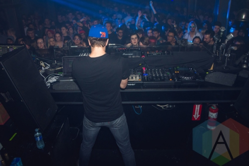 Attlas performing at Uniun Nightclub in Toronto on February 25, 2016 during the 2016 Mau5hax Bus Tour. (Photo: Anthony D'Elia/Aesthetic Magazine)