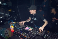 Deadmau5 performing at Uniun Nightclub in Toronto on February 25, 2016 during the 2016 Mau5hax Bus Tour. (Photo: Anthony D'Elia/Aesthetic Magazine)