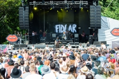 FIDLAR performing at the 2016 Laneway Festival in Sydney, Australia on February 7, 2016. (Photo: Gwendolyn Lee/Aesthetic Magazine)