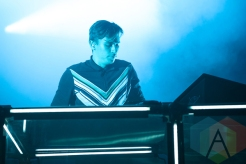 Flume performing at the 2016 Laneway Festival in Sydney, Australia on February 7, 2016. (Photo: Gwendolyn Lee/Aesthetic Magazine)