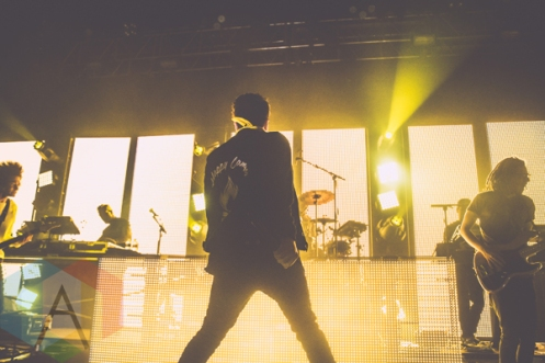 Hoodie Allen performing at the Riviera Theatre in Chicago on February 27, 2016. (Photo: Kris Cortes/Aesthetic Magazine)