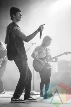 The Neighbourhood performing at The Marquee Theatre in Tempe, Arizona on February 3, 2016. (Photo: Meghan Lee/Aesthetic Magazine)