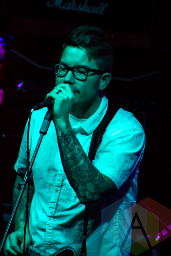 Hawthorne Heights performing at Livewire in Scottsdale, Arizona on February 12, 2016. (Photo: Meghan Lee/Aesthetic Magazine)