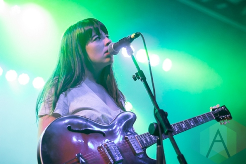 Hop Along performing at The Marquee Theatre in Tempe, Arizona on February 16, 2016. (Photo: Meghan Lee/Aesthetic Magazine)
