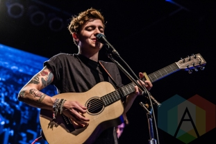 Scott Helman performing at the 2016 JUNO Awards press conference at The Phoenix Concert Theatre in Toronto on February 2, 2016. (Photo: Kelsey Giesbrecht/Aesthetic Magazine)