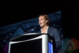 Mark Cohon at the 2016 JUNO Awards press conference at The Phoenix Concert Theatre in Toronto on February 2, 2016. (Photo: Kelsey Giesbrecht/Aesthetic Magazine)