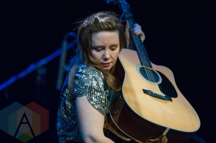 Frazey Ford performing at the Harbourfront Centre Theatre in Toronto on February 17, 2016. (Photo: Orest Dorosh/Aesthetic Magazine)