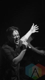 Tesseract performing at at KOKO in London, UK on February 12, 2016. (Photo: Rossi Ivanova/Aesthetic Magazine)