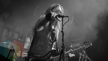 Ensiferum performing at the O2 Academy Islington in London, UK on February 25, 2016. (Photo: Rossi Ivanova/Aesthetic Magazine)