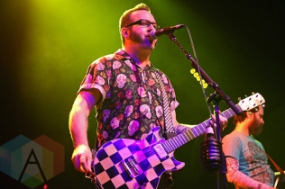 Reel Big Fish performing at The Fillmore in San Francisco, California on February 22, 2016. (Photo: Raymond Ahner/Aesthetic Magazine)