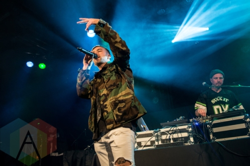 SonReal performing at the Commodore Ballroom in Vancouver on February 27, 2016. (Photo: Carmin Edwards/Aesthetic Magazine)