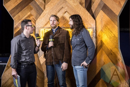The Sheepdogs at the 2016 JUNO Awards press conference at The Phoenix Concert Theatre in Toronto on February 2, 2016. (Photo: Kelsey Giesbrecht/Aesthetic Magazine)