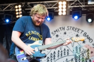 The Smith Street Band performing at the 2016 Laneway Festival in Sydney, Australia on February 7, 2016. (Photo: Gwendolyn Lee/Aesthetic Magazine)