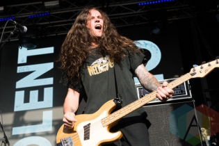 Violent Soho performing at the 2016 Laneway Festival in Sydney, Australia on February 7, 2016. (Photo: Gwendolyn Lee/Aesthetic Magazine)