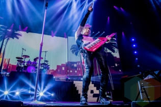 Marianas Trench performing at the FirstOntario Centre in Hamilton on March 11, 2016. (Photo: Philip C. Perron/Aesthetic Magazine)