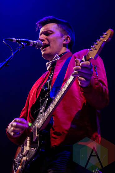 Kieran Mercer performing at the FirstOntario Centre in Hamilton on March 11, 2016. (Photo: Philip C. Perron/Aesthetic Magazine)
