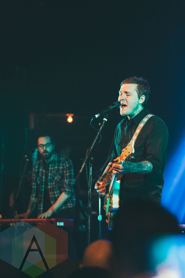 Brian Fallon performing at The Opera House in Toronto on March 13, 2016. (Photo: Josh Moody/Aesthetic Magazine)