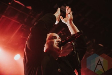 Disturbed performing at the Commodore Ballroom in Vancouver on March 11, 2016. (Photo: Timothy Nguyen/Aesthetic Magazine)