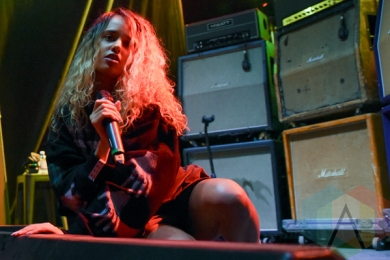 Tommy Genesis performing at House of Vans Toronto on March 16, 2016. (Photo: Jaime Espinoza/Aesthetic Magazine)
