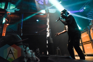 Jazz Cartier performing at House of Vans Toronto on March 16, 2016. (Photo: Jaime Espinoza/Aesthetic Magazine)