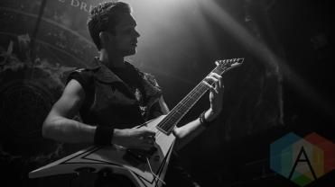 End of the Dream performing at the O2 Academy Islington in London, UK on March 24, 2016. (Photo: Rossi Ivanova/Aesthetic Magazine)