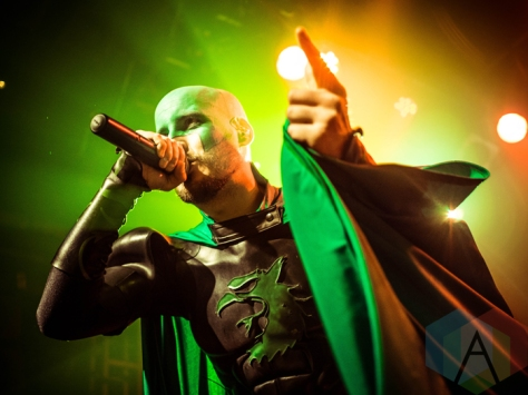 Grailknights performing at the O2 Academy Islington in London, UK on March 24, 2016. (Photo: Rossi Ivanova/Aesthetic Magazine)
