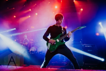 August Burns Red performing at the Vogue Theatre in Vancouver on March 26, 2016. (Photo: Timothy Nguyen/Aesthetic Magazine)