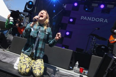 Lolo performing at the Pandora Discovery Den during SXSW 2016 on March 19, 2016 in Austin, Texas. (Photo: Rachel Murray/Getty)