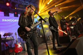 Grizfolk performing at the Pandora Discovery Den during the SXSW 2016 at The Gatsby on March 19, 2016 in Austin, Texas. (Photo: Rachel Murray/Getty)